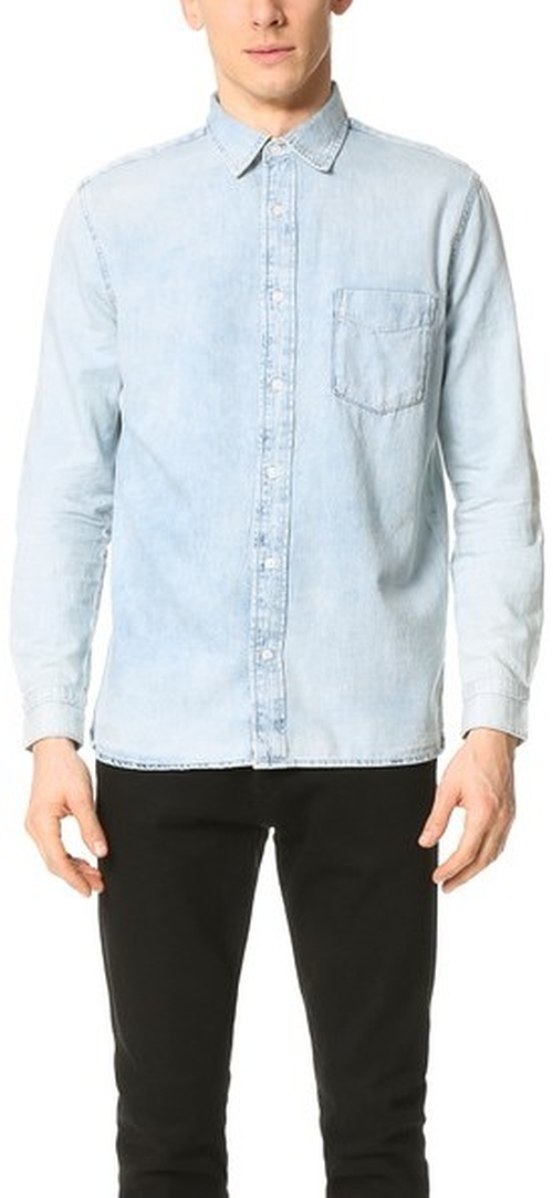 Air Denim Shirt by Cheap Monday in Empire