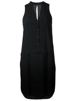 Sleeveless Shirt Dress by Tibi in That Awkward Moment