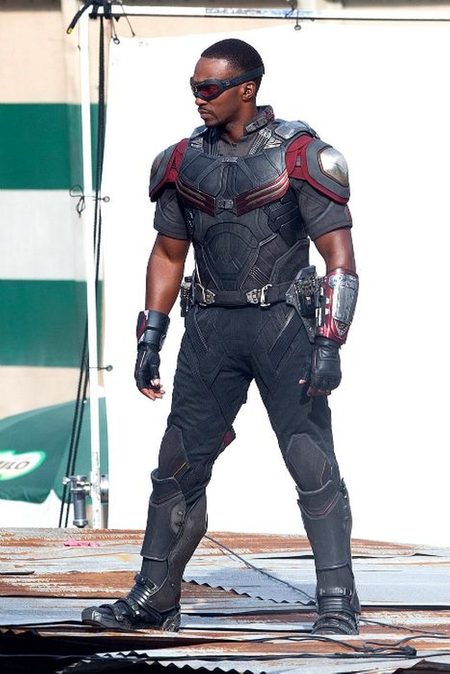 Custom Made Falcon Suit by Judianna Makovsky (Costume Designer) in Captain America: Civil War