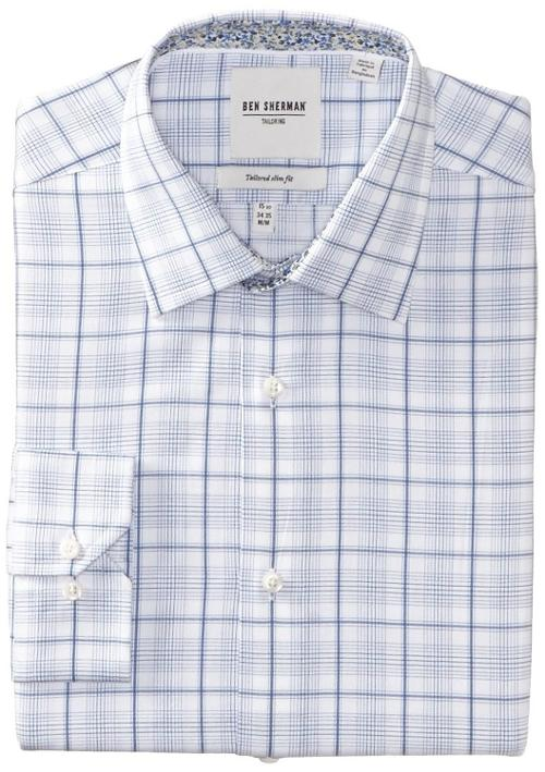 Men's Plaid Dress Shirt by Ben Sherman in And So It Goes