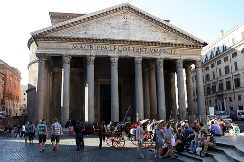 Pantheon Rome, Italy in Zoolander 2