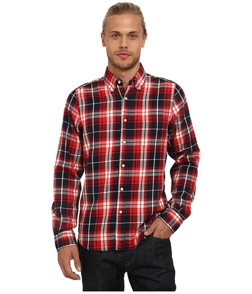 Rugger R. Windblown Twill Shirt by Gant in Nashville - Season 4 Episode 4
