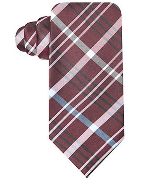 Speaker Plaid Slim Tie by Ryan Seacrest Distinction in Dumb and Dumber To