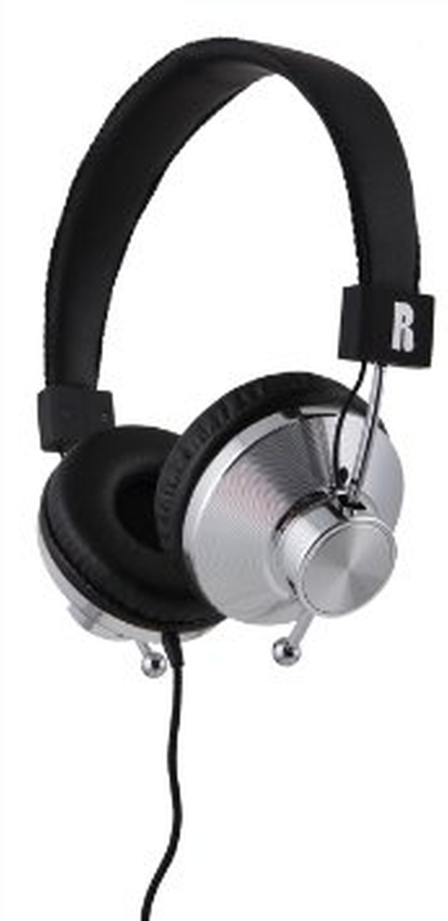 33iS On-Ear Audio Headphones by Eskuche in Black Mass
