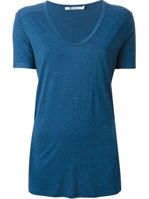 Scoop Neck T-Shirt by T by Alexander Wang in The Boy
