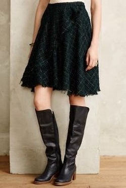 Fringed Tweed Skirt by Eva Franco in Love the Coopers