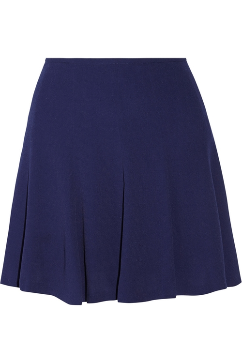 Juliette Textured Crepe Mini Skirt by Sandro in Sisters