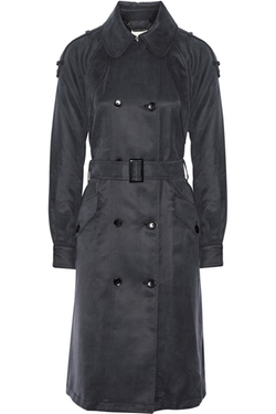 Washed Cotton-Blend Trench Coat by Ashley B in How To Get Away With Murder
