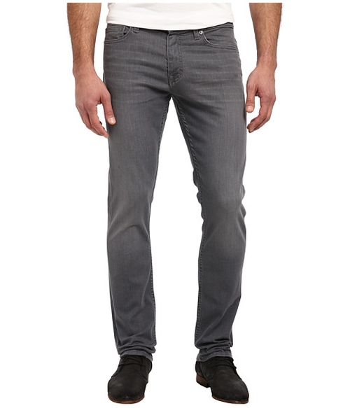 Jeans Slim in Medium Grey by Calvin Klein in Neighbors