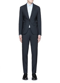 Tokyo Slim Fit Stretch Wool Suit by Dsquared2 in Billions