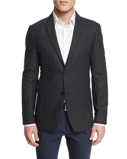 Cashmere-Blend Sport Coat by Theory in Elementary