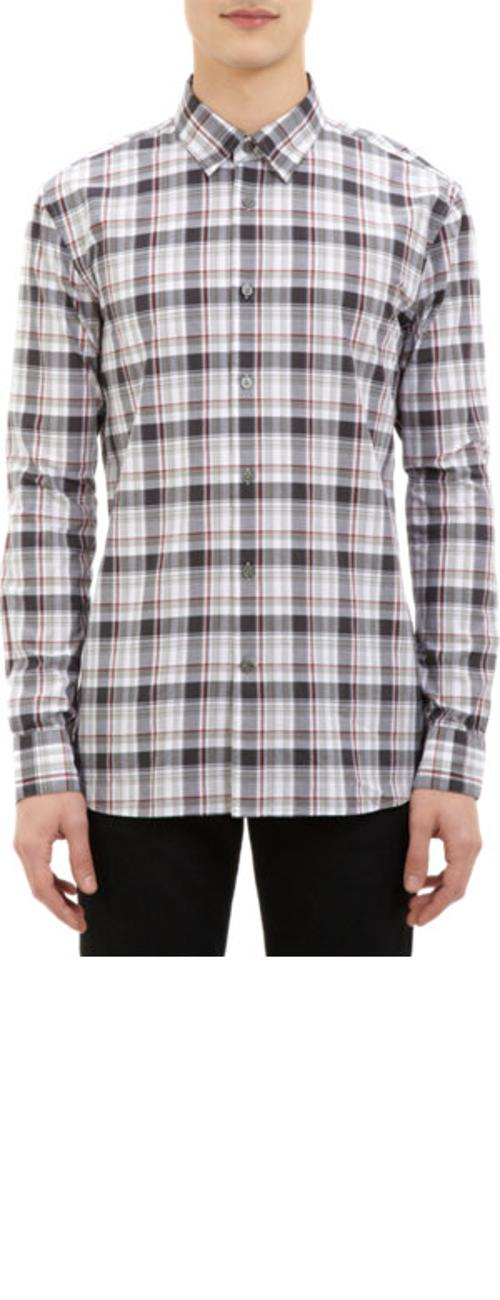 Plaid Shirt by JOHN VARVATOS STAR U.S.A. in About Last Night