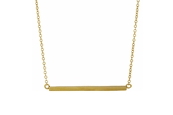 Bar Pendant Necklace by Jennifer Meyer in Jurassic World