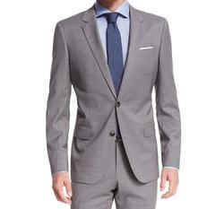 Johnstons Lennon Melange Plaid Suit by Boss Hugo Boss in Sneaky Pete