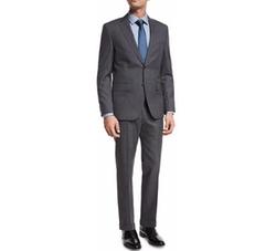 Tonal Stripe Two-Piece Suit by Boss Hugo Boss in Empire