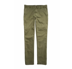 Comfort Canvas Trouser by Faherty in Animal Kingdom