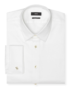 Emmery Tuxedo Dress Shirt by Boss Hugo Boss in The Walk