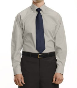 Solid Spread Collar Dress Shirt by JoS. A. Bank in The Wolverine
