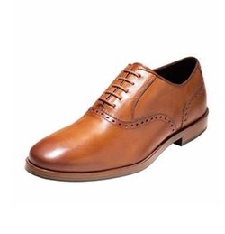 Hamilton Grand Plain-Toe Oxford Shoes by Cole Haan in Rosewood