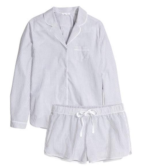 Cotton Pajamas by H&M in Scream Queens - Season 1 Episode 6