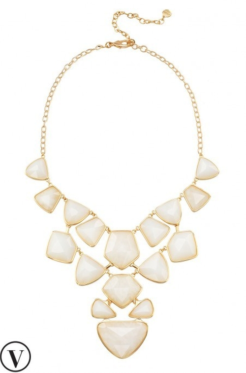 Mosaic Statement Necklace by Stella & Dot in Scream Queens