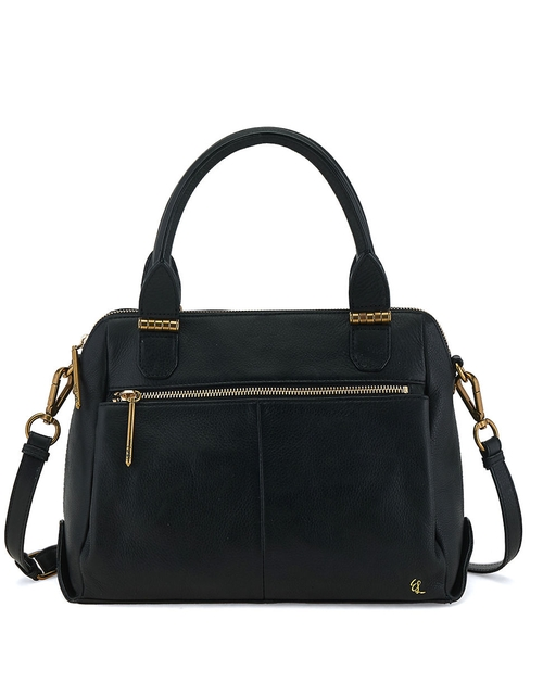 Olvera Metro Satchel Bag by Elliott Lucca in New Girl - Season 5 Episode 7