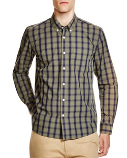 Crosby Check Regular Fit Button Down Shirt by Saturdays Surf NYC in Modern Family