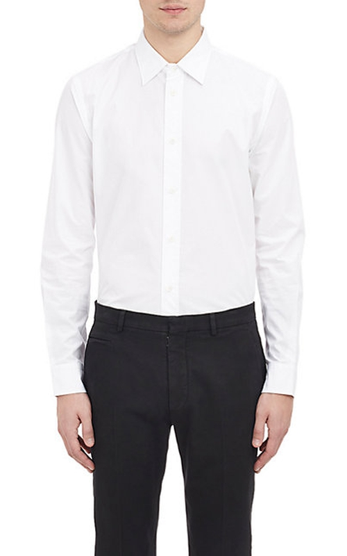 Poplin Shirt by Maison Margiela in Suits - Season 5 Episode 3