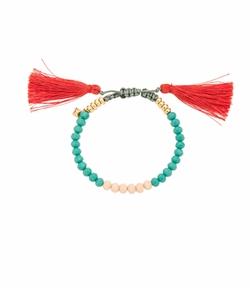 Tropics Tassel Bracelet by Rebecca Minkoff in Grace and Frankie
