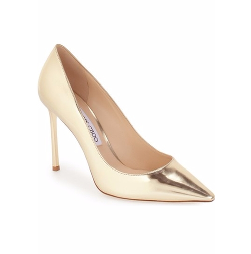 'Romy' Pointy Toe Pumps by Jimmy Choo in Empire - Season 2 Episode 14