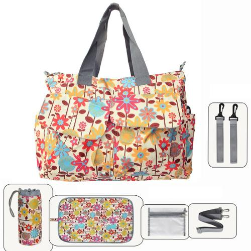 Floral Designer Diaper Tote Bags by Damai in New Year's Eve