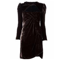 Long Sleeve Draped Dress by Carven in Gossip Girl