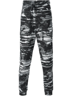 Screen Camouflage Print Track Pants by MCQ Alexander Mcqueen   in Wedding Crashers
