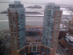 Jersey City, New Jersey by Liberty Towers in Marvel's The Avengers
