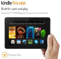 "Fire HDX 7"" Tablet by Kindle in Transcendence"