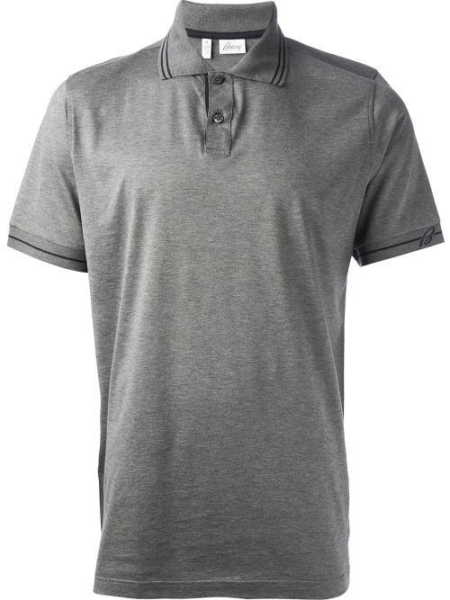 Contrast Trim Polo Shirt by Brioni in Kingsman: The Secret Service