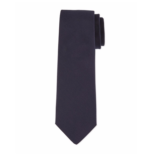Grosgrain Solid Tie by Lanvin in Guilt - Season 1 Episode 7