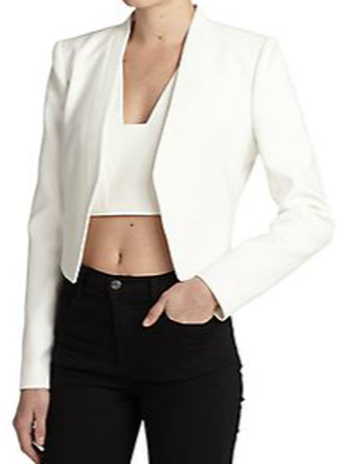 Bren Cropped Blazer by BCBGMAXAZRIA in The Flash
