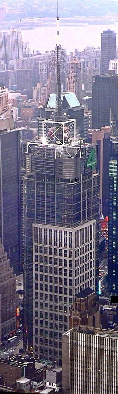 Condé Nast Building New York City, New York in Southpaw