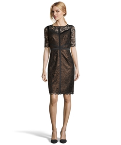 Metallic Lace Dress by Nue By Shani in Unbreakable Kimmy Schmidt