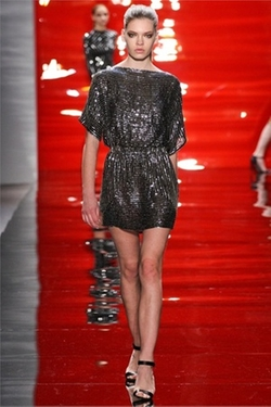 Fall 2012 Sequin Mini-Dress by Reem Acra in Gossip Girl