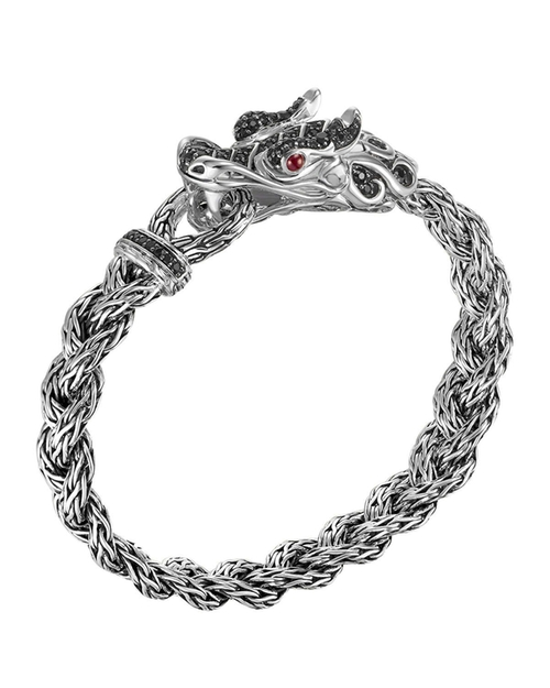 Batu Naga Dragon Black Sapphire Bracelet by John Hardy in Furious 7