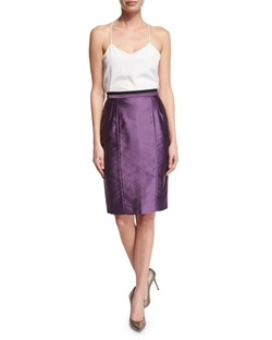 High-Waist Pencil Skirt by Valentino in Quantico