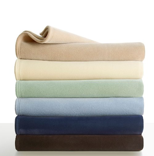 Velvety Soft And Plush Blanket by Vellux Original in Begin Again