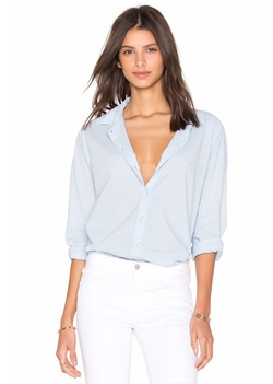 Minnie Shirting Button Down Top by Velvet By Graham & Spencer in Suits