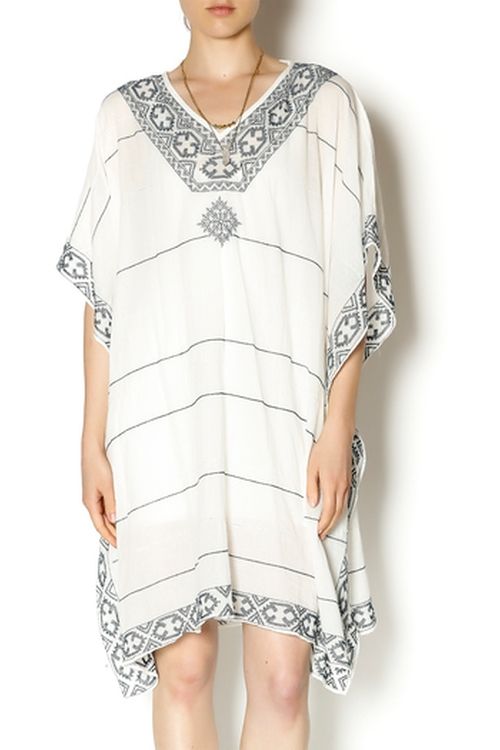 Embroidered Kaftan by Star Mela in Forgetting Sarah Marshall