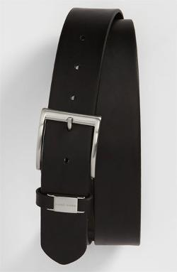 'Connio' Leather Belt by BOSS HUGO BOSS in Brick Mansions