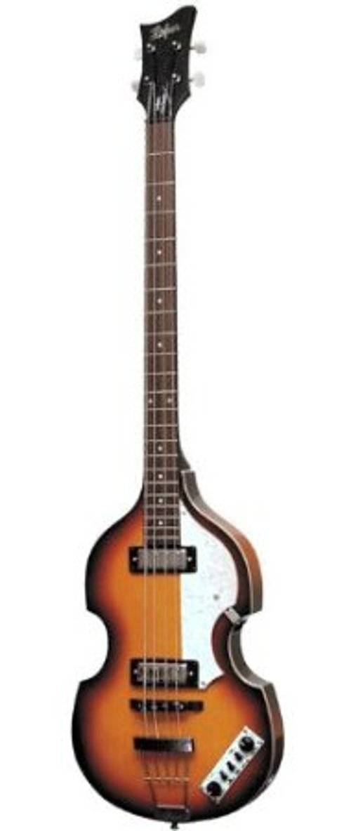 Icon Series Beatle Bass Guitar by Hofner in Begin Again