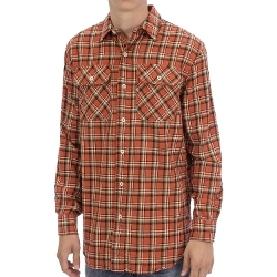 Burnside Flannel Shirt by Pendleton in Barely Lethal