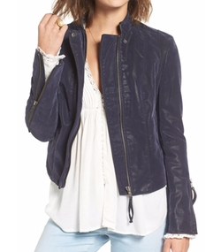 Faux Leather Jacket by Free People in The Flash